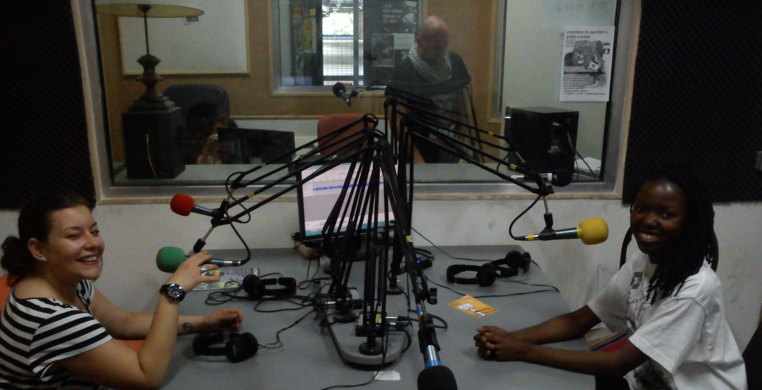 Radio Interview with Tressym & Tina Mweni