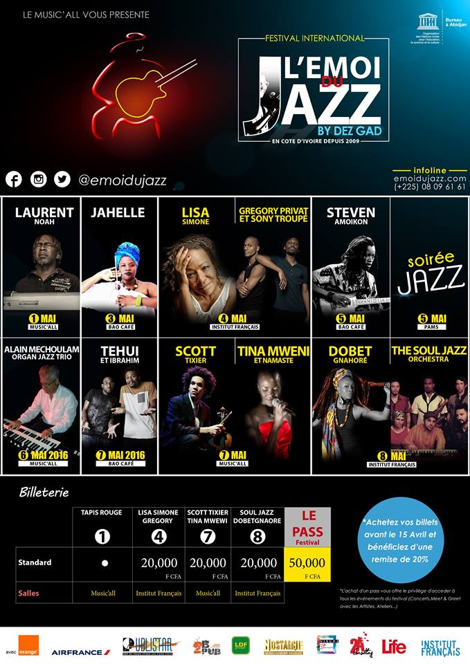 Abidjan - L'emoi du Jazz