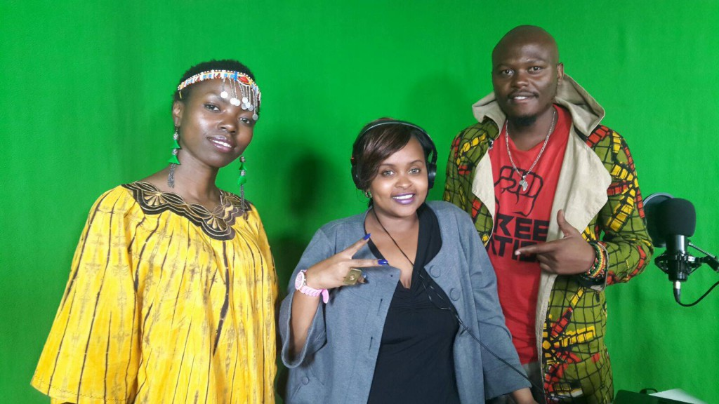 Tina Mweni & Hustla Jay at What's Good Live Tv - Kenya