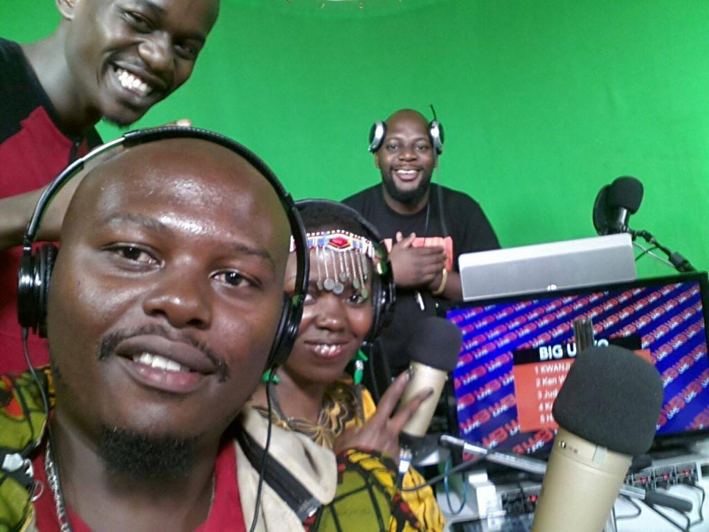 Tina Mweni & Hustla Jay in Kenya at What's Good Live Tv