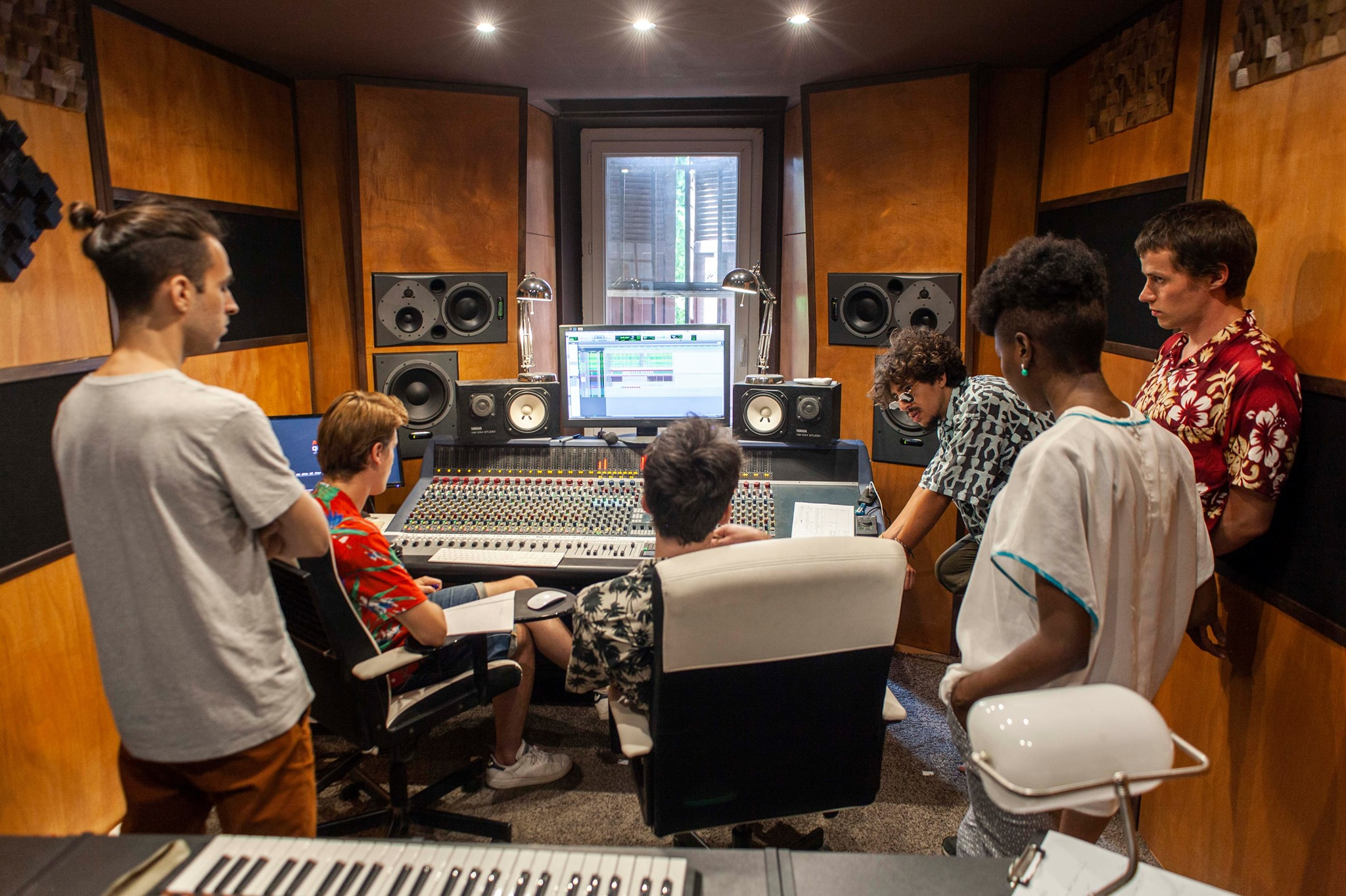 Recreation ft. Tina Mweni - Denger studio Marseille. July 2019 Photo: Nina Gat