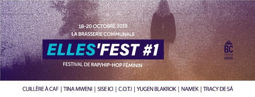 Tina Mweni & DJ DeeDy at Elles'Fest #1 – Festival 2019