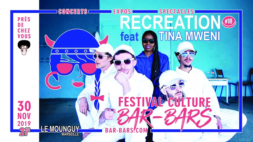 Recreation ft. Tina Mweni Live Festival BarBars 30-11-2019