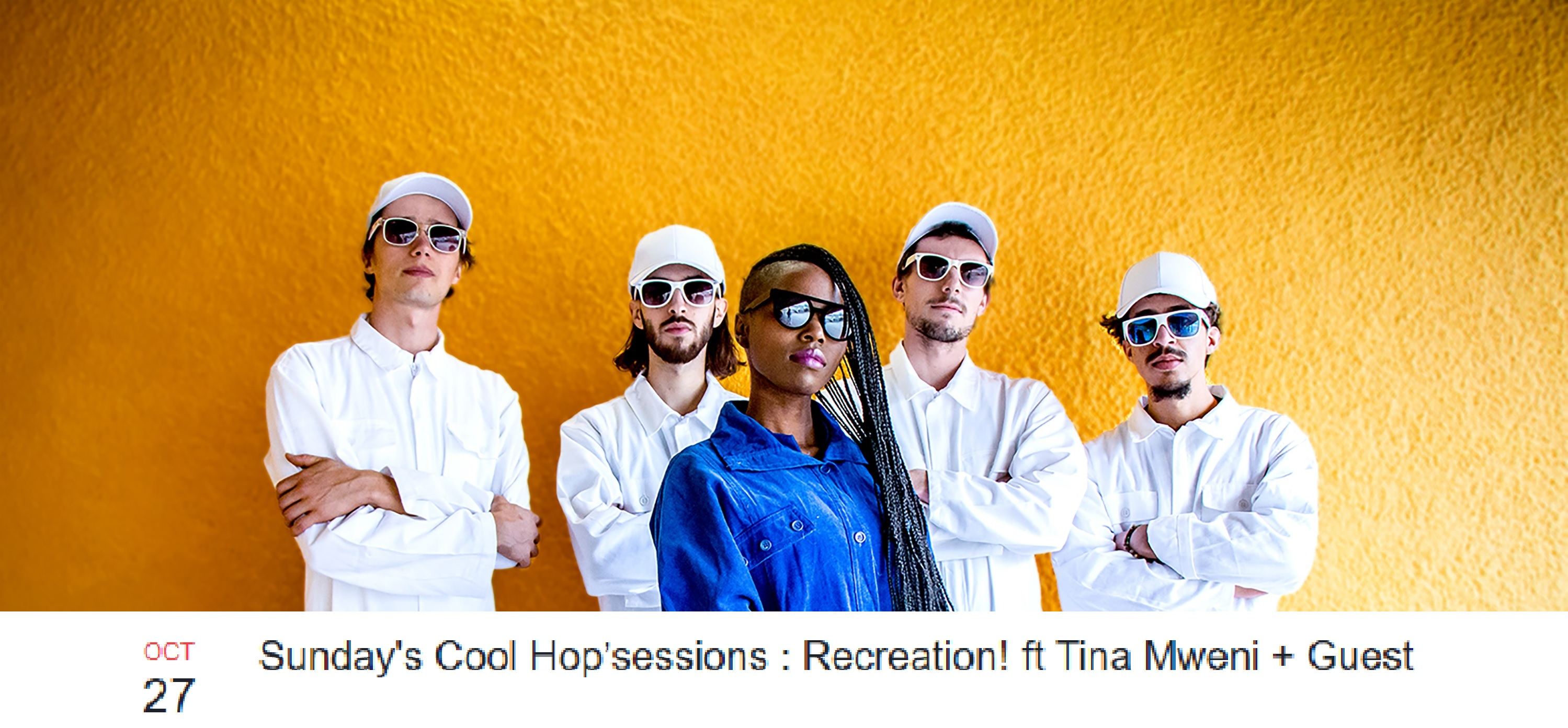 Live at Jazz Fola 27/10/19 <br /> Recreation! ft. Tina Mweni <br /> Photo: @ombrelumieresociete