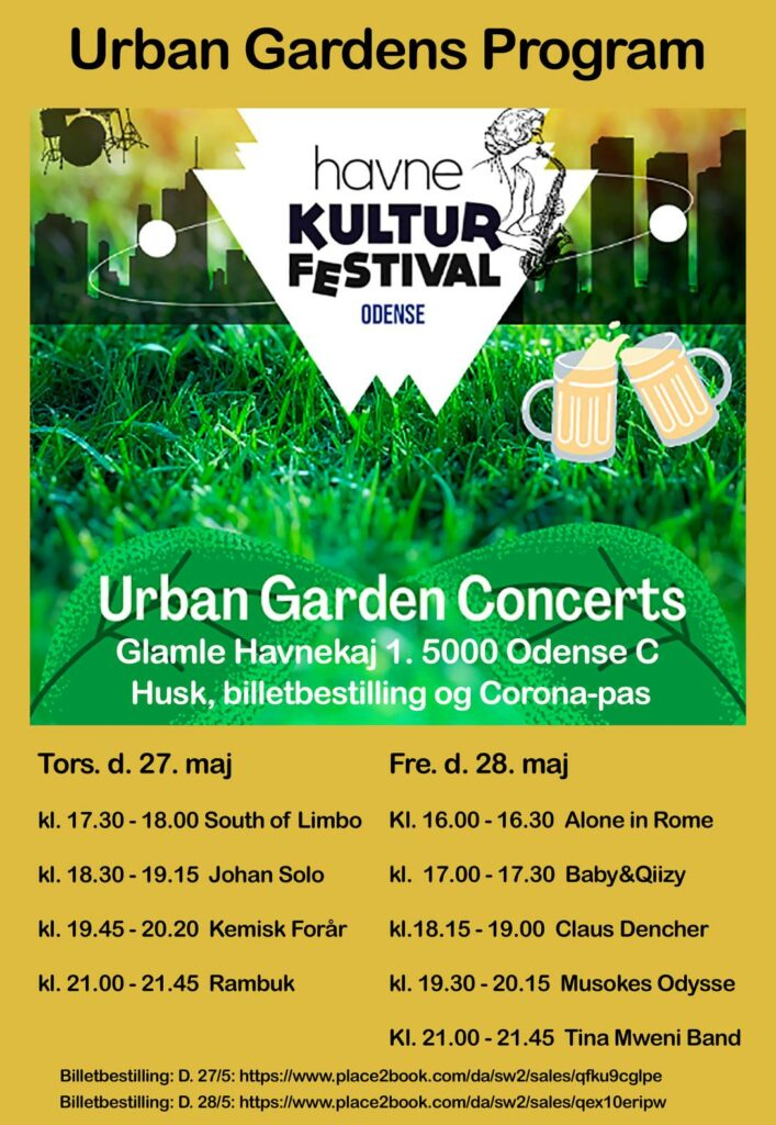 Tina Mweni Band - Urban Garden, Havne Kultur Festival